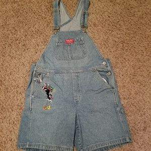 Warner Bros Looney Tunes Women's Shorts Overall